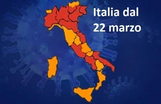 Italia Dati  18/03/2021  Coronavirus : 24.935  nuovi casi, 353.737 tamponi con 423 morti