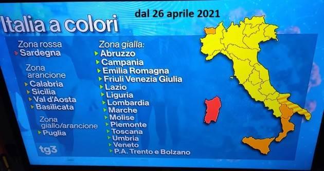 Italia Dati  30/04/2021 Coronavirus : 13.446  nuovi casi, 338.771  tamponi 263  morti