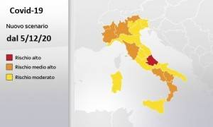 Italia Dati 5/12 Coronavirs :21.052 nuovi casi su 194.984 tamponi con 662  morti