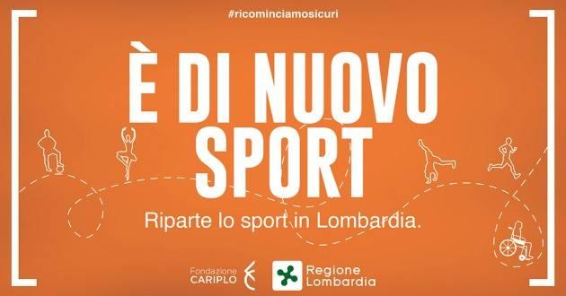 Lombardia SPORT - BOCCI E PIZZUL (PD): LA REGIONE RIFINANZI IL BANDO 'È DI NUOVO SPORT'