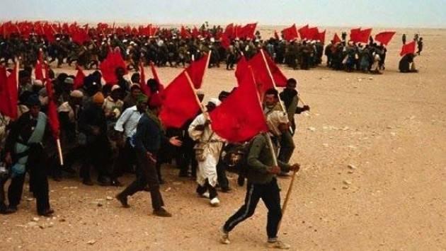 la marcia verde è l'evento storico che ha completato l'integrità territoriale del Marocco