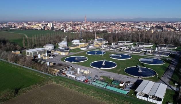 Padania Acque Cremona  : tra le società virtuose per capacità di depurazione e dispersione rete idrica.