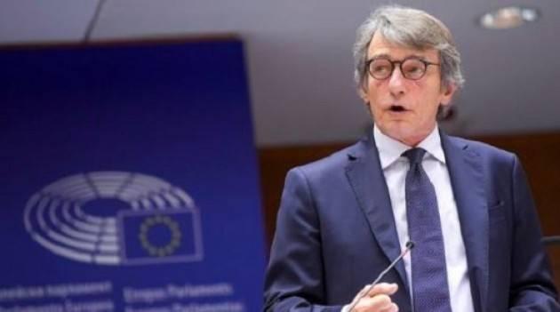 SASSOLI: UN BUON ACCORDO PER GLI EUROPEI