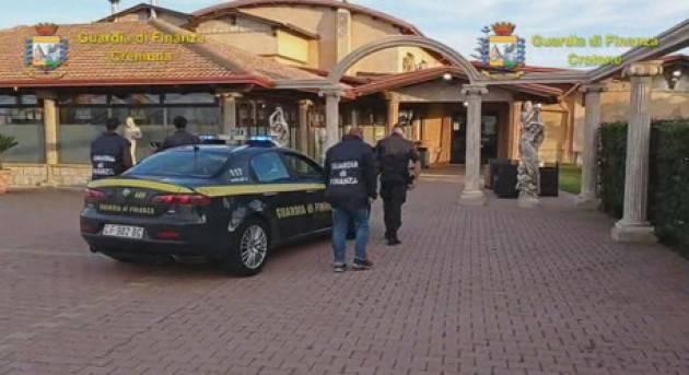 GUARDIA DI FINANZA Cremona confisca beni per 17 milioni