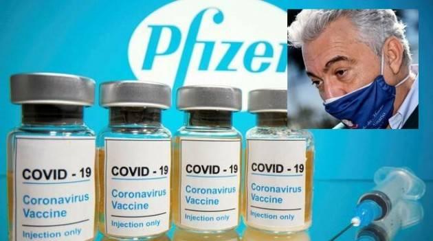 Covid  2° Ondata ARCURI : Un italiano su 60 è stato colpito dalla pandemia, i primi vaccini (1,7mil ) a gennaio