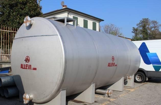 Cremona Padania Acque : due serbatoi mobili a supporto del servizio Ingegneria