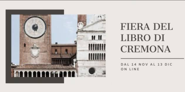 EVENTI: questa sera al via l'edizione in streaming 2020 della 'Fiera del Libro Cremona'