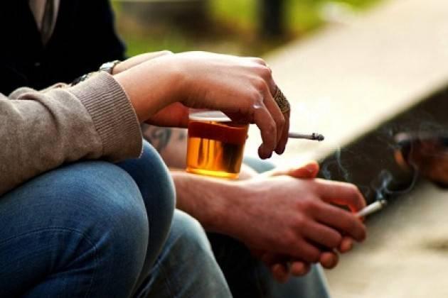 ALCOL E FUMO TRA GLI ADOLESCENTI EUROPEI