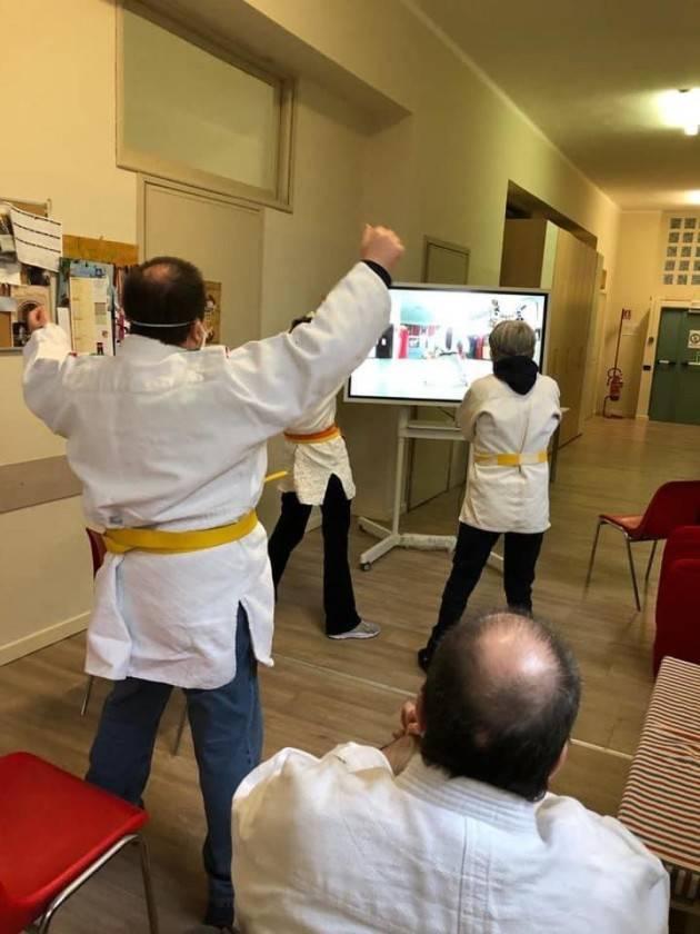 JUDO: Il Kodokan Cremona lezione in streaming nei centri diurni di Pizzighettone e Regona.
