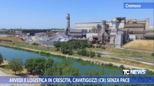 Arvedi e logistica in crescita, Cavatigozzi (Cr) senza pace di Paolo Zignani (Video)