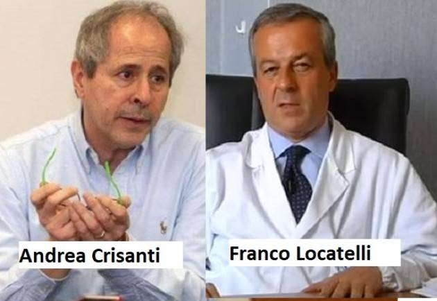 I Personaggi Polemiche sulle vaccinazione anticovid: Crisanti ( NO !?) – Locatelli (SI) | G.C.Storti