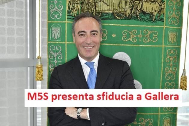 Degli Angeli (M5S Lomb): Pronta la sfiducia per l'assessore Gallera.