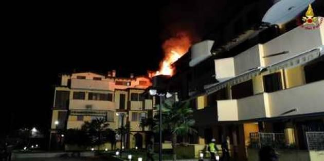Incendi: si addormenta cucinando e distrugge appartamento