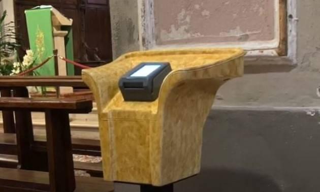 A Cremona l'offerta in chiesa si fa anche con carta credito