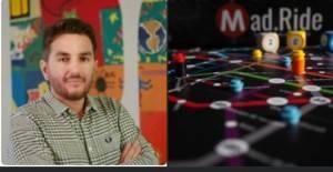 Intervista a Dario Palmieri (Cremonese a Madrid) , creatore del gioco da tavolo Mad.Ride