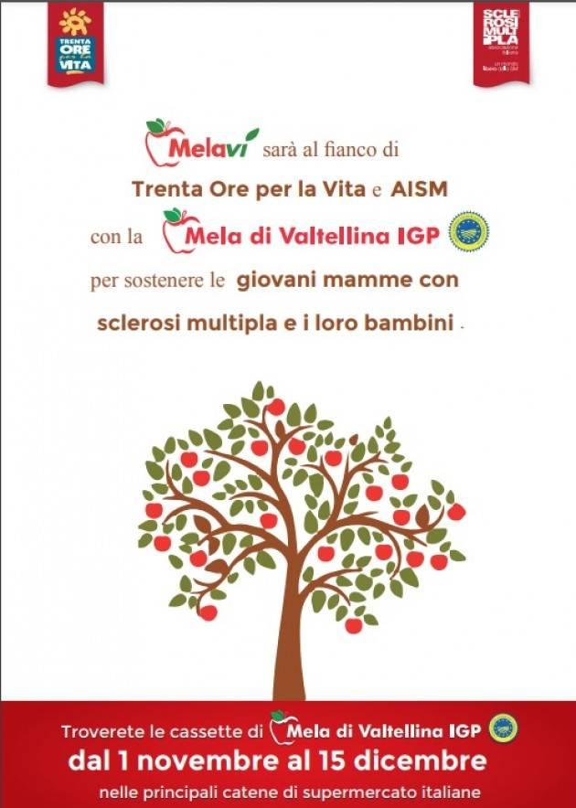 Anche Melavì sostiene una mamma con la sclerosi multipla (SM).