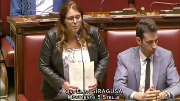 Il M5S perde un altro deputato (Siragusa)