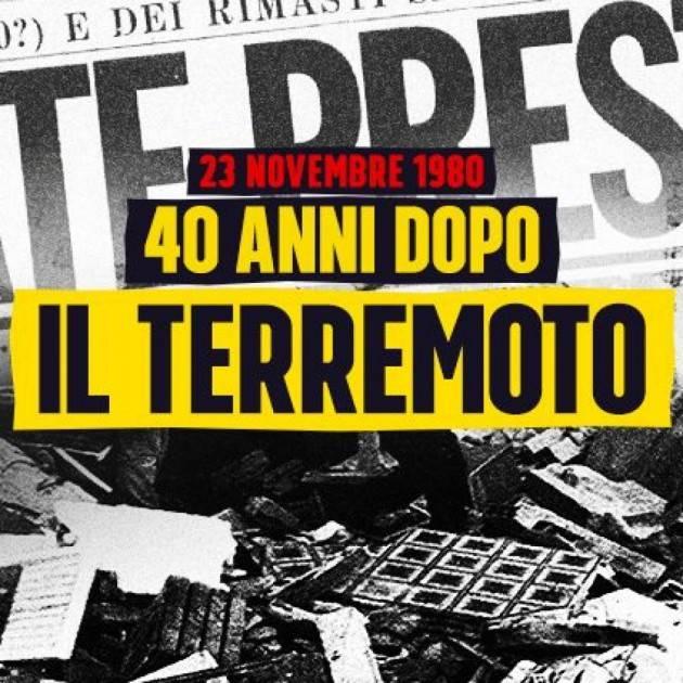 Terremoto in Irpinia, i 90 secondi che cambiarono faccia alla Campania