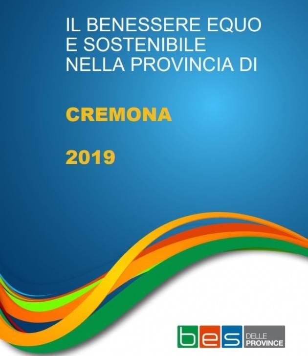 Gli indicatori del Benessere equo e sostenibile della provincia di Cremona - edizione 2020