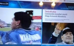 Argentina è morto Maradona aveva 60 anni