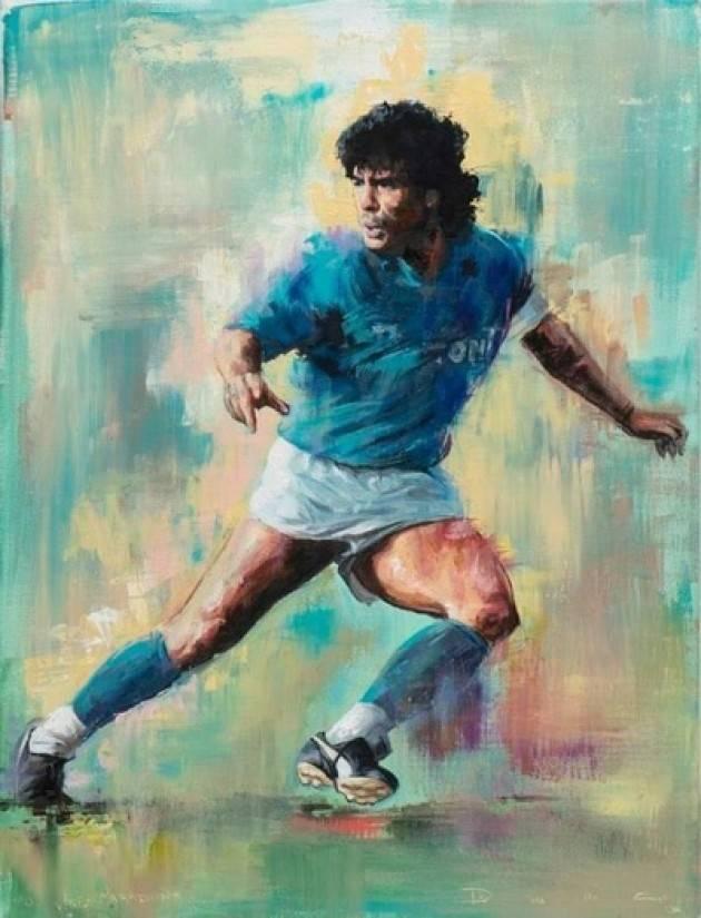 ADDIO PIBE DE ORO:  Il mondo di un calcio perduto piange Diego Armando Maradona