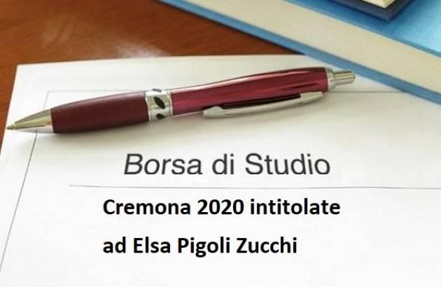 Cremona Assegnate le borse di studio intitolate ad Elsa Pigoli Zucchi