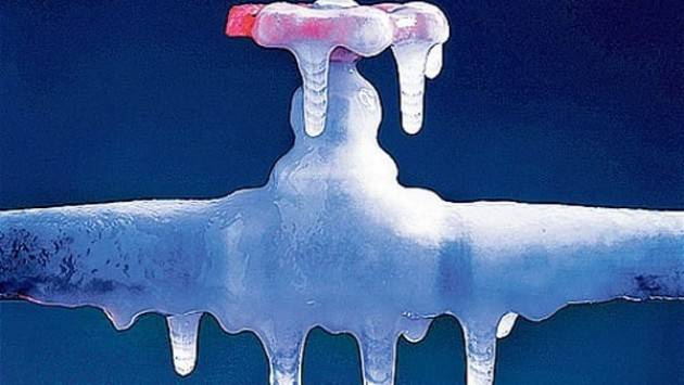 Cremona Temperature in picchiata e rischio gelo. I consigli di Padania Acque