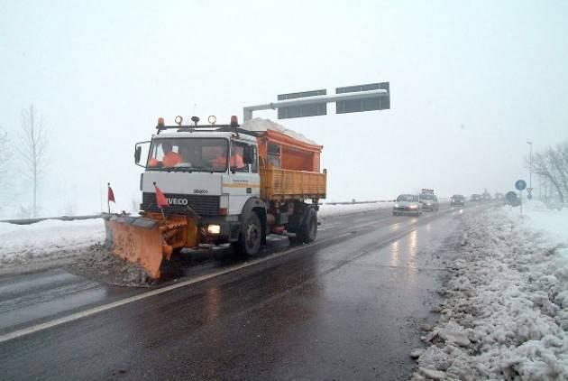 Provincia  Cremona Piano neve 2020-21: mezzi pronti ed interventi preventivi sul territorio