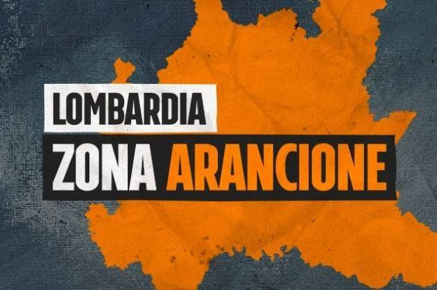 L'annuncio di Attilio Fontana La Lombardia diventa zona arancione da domenica 29 novembre