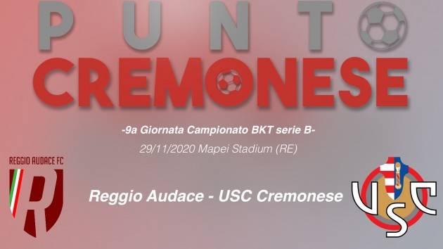 PUNTO CREMONESE: alle 15.00 Cremonese in campo a Reggio Emilia in cerca degli attributi e dei gol.