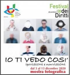 A Crema 'IO TI VEDO COSI' mostra sulla visione non visione che l'U.I.C.I.  Cremona presenta
