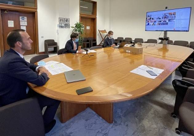 IL SOTTOSEGRETARIO DI STEFANO PRESIEDE CABINA REGIA ''ENERGIA, AMBIENTE, CLIMA''