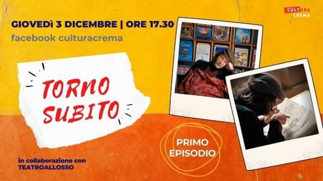 Continuano gli appuntamenti on line ideati Assessorato cultura Comune di Crema.