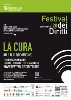 Crema 'LA CURA', al via il 3 dicembre la nuova edizione del Festival dei Diritti