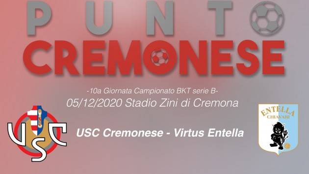 PUNTO CREMONESE: oggi alle 14.00 allo  Stadio Zini scenderanno in campo Cremonese e Virtus Entella