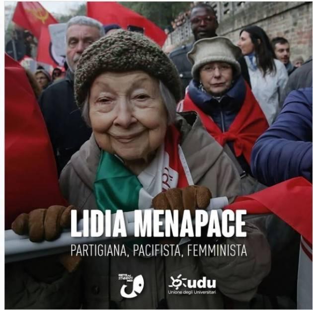 È morta Lidia Menapace,staffetta partigiana, femminista, pacifista Rete Studenti