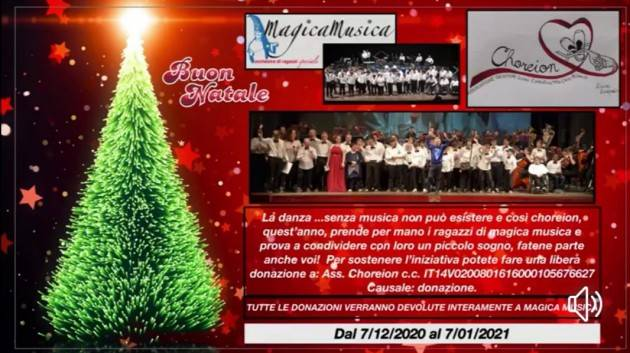 L'associazione Choreion al fianco di MagicaMusica