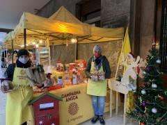 Coldiretti Cremona, presso il portico del Consorzio Agrario Natale km zero oggi
