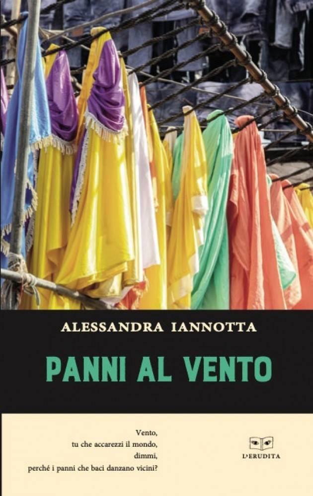 IN LIBRERIA E NEGLI STORE 'PANNI AL VENTO' di ALESSANDRA IANNOTTA