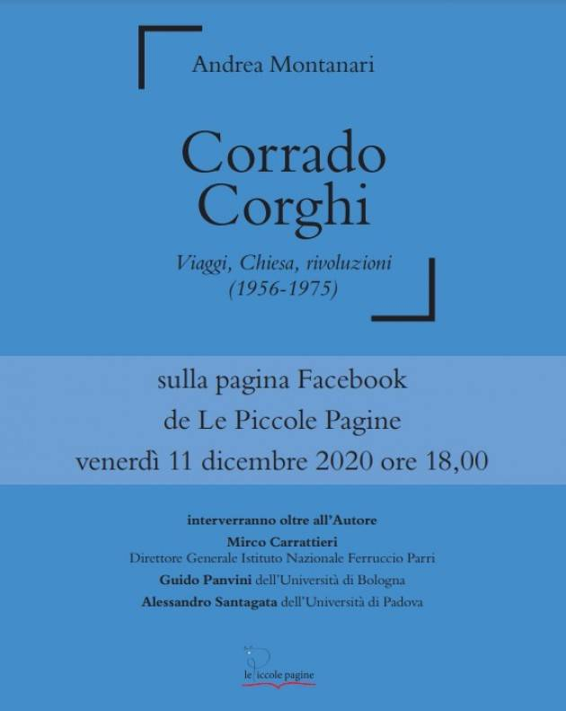 Recensione libro su Corrado Corghi di Andrea Montanari