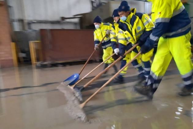 Protezione Civile  Cremona Signoroni: In Emilia più di 100 volontari in tre giorni.