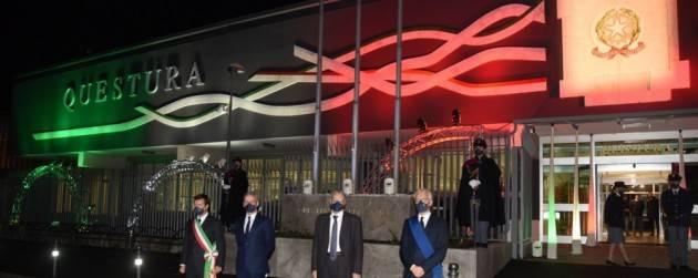 Inaugurata a Bergamo la nuova facciata della questura