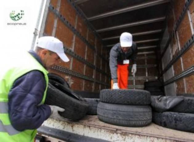 Emergenza raccolta pneumatici fuori uso (Pfu) presso i gommisti