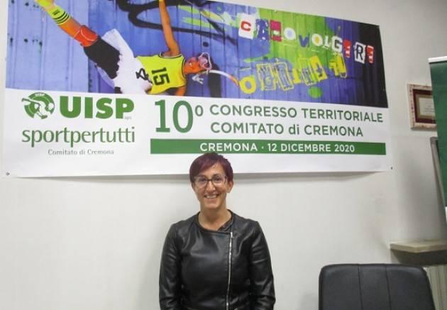 L'UISP CREMONESE A CONGRESSO  Feroldi Anna Presidente
