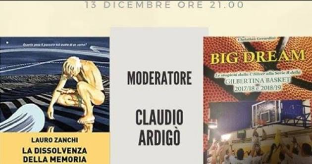 FIERA DEL LIBRO DI CREMONA: questa sera dalla pagina FB dell'evento Claudio Ardigò dialogherà con Lauro Zanchi e Christian Gerardini