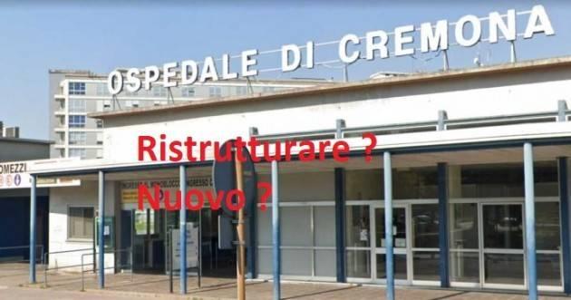 Nuovo Ospedale a Cremona ? Ma serve davvero? Fabio Amadini
