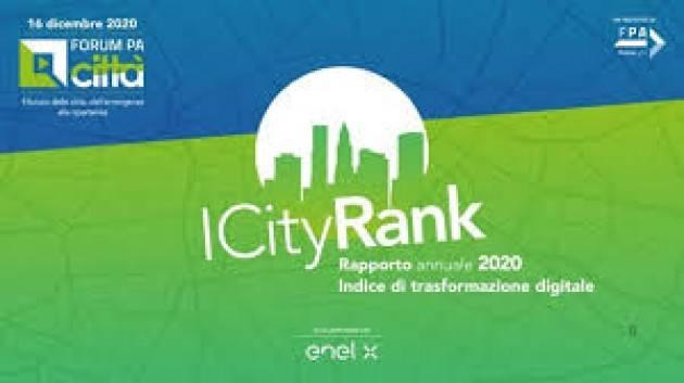 ICityRank 2020, Bergamo è una delle migliori città italiane nella transizione digitale