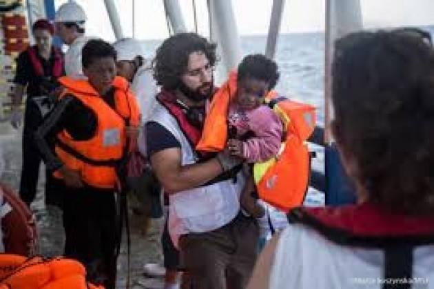 Cremona Pianeta Migranti ResQ la nave società civile per salvare migranti