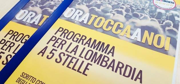 M5S Lombardia. Bilancio 2021-2023: 'Provvedimento senza capo né coda'