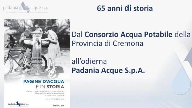 PADANIA ACQUE HA PRESENTATO (on line) IL PIANO  INVESTIMENTI PERIODO 2020-2023